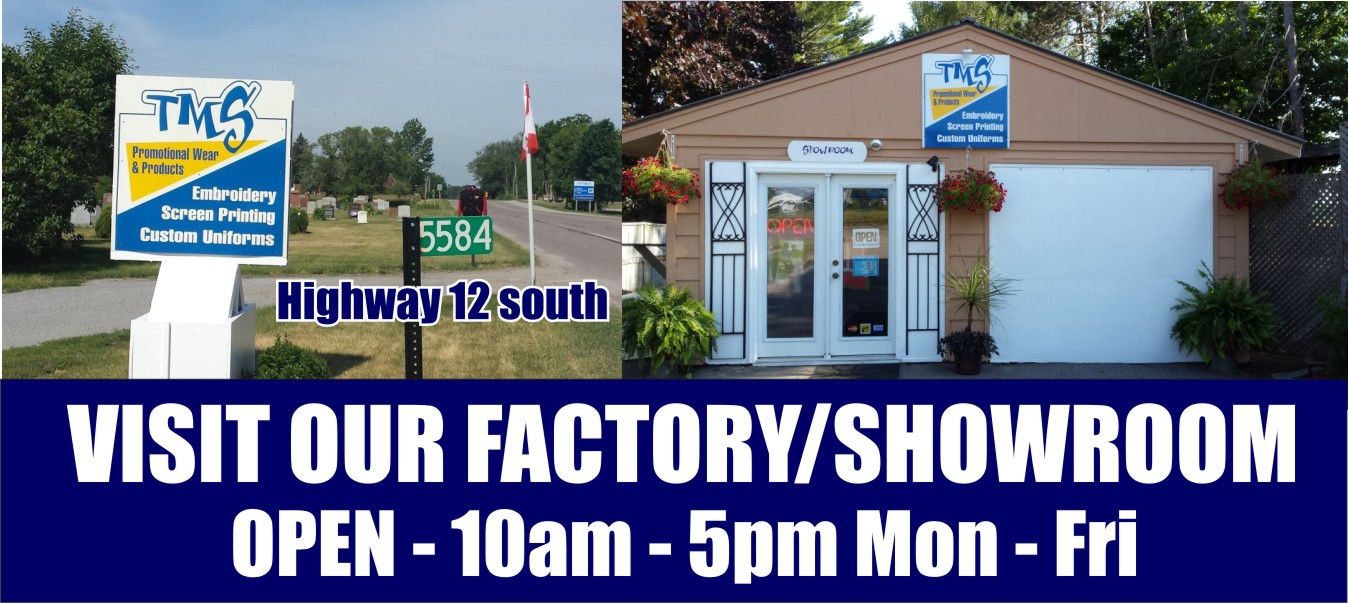 Visit our Factory Showroom